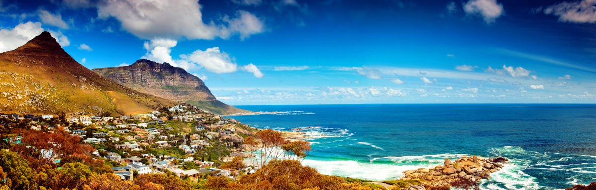 Cape Town city panoramic