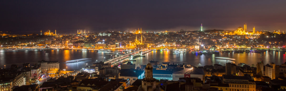 View of Istanbul Turkey